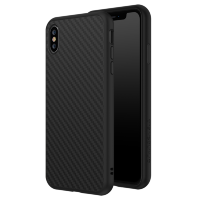 Чехол RhinoShield SolidSuit для iPhone Xs Чёрный карбон